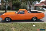 Classic Hg Holden ute gts hk ht NO RESERVE!! for Sale