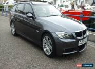 2007 BMW 320I M SPORT TOURING GREY  AVANT ESTATE FULL SERVICE HISTORY for Sale