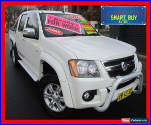 Classic 2008 Holden Colorado RC MY09 LT-R (4x2) White Automatic 4sp A Crewcab for Sale