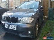 L@@K 2006 BMW 116I SE GREY.SPARES OR REPAIRS.NON RUNNER,FULL SERVICE HISTORY. for Sale