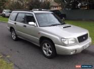 Subaru Forester GT wagon 5Spd Manual 2000 for Sale