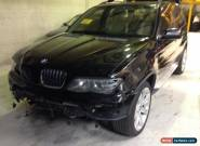 BMW X5 WAGON 3.0 LITRE DIESEL TURBO DAMGED STATUTORY WRITE OFF  for Sale