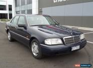 1995 Mercedes-Benz C280 Elegance Blue Automatic 4sp A Sedan for Sale