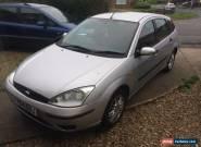 2004 Ford Focus 1.8 petrol MOT december 2016 for Sale