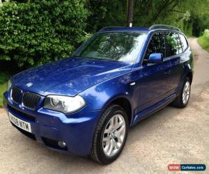Classic 2008 BMW X3 2.0D M SPORT AUTO BLUE for Sale