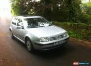2002 VOLKSWAGEN GOLF SE AUTO SILVER for Sale