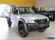 2008 Mazda BT-50 B3000 FREESTYLE DX+ Silver Manual 5sp M Cab Chassis for Sale