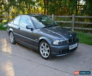 Classic 2000 BMW 323 CI GREY COUPE AUTO LEATHER 111k NEW TYRES &MOT NOT 318 320 325 VGC for Sale