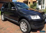 Volkswagen Touareg 2.5 TDI SE 5dr Black Automatic 76000 miles for Sale