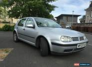 2003 VOLKSWAGEN GOLF MATCH TDI PD SILVER for Sale