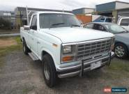 1982 Ford F100 Light Blue Automatic 3sp A Utility for Sale