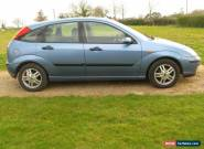 2003 FORD FOCUS ZETEC EXCELLENT CONDITION LOW MILEAGE FULL HISTORY for Sale