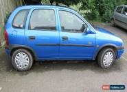 1998 VAUXHALL CORSA BREEZE HI-TORQ BLUE 1.4 5 DOOR SPARES OR REPAIR for Sale