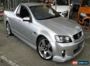 2008 Holden Commodore VE MY09.5 SS-V Silver Manual 6sp M Utility for Sale