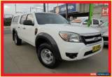 Classic 2009 Ford Ranger PK XL Hi-Rider White Automatic 5sp A 4D Cab Chassis for Sale