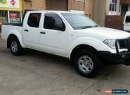 NISSAN NAVARA 2006 D40 DUAL CAB 4X4 TURBO DIESEL 2.5L MANUAL 6SPD RX REGO CHEAP for Sale