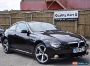 2008 BMW 6 Series 3.0 635d Sport 2dr for Sale