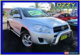 Classic 2011 Toyota RAV4 ACA38R CV (2WD) Silver Manual 5sp M Wagon for Sale