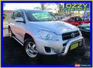 2011 Toyota RAV4 ACA38R CV (2WD) Silver Manual 5sp M Wagon for Sale