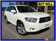 2008 Toyota Kluger GSU45R KX-S (4x4) Pearl White Automatic 5sp A Wagon for Sale