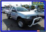 Classic 2009 Mitsubishi Triton ML MY09 GLX (4x4) Silver Automatic 4sp A Cab Chassis for Sale