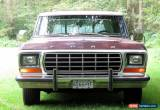 Classic 1978 Ford F-150 Trailer Special for Sale