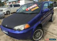 1999 Honda HR-V (4x4) Indy Special Purple Haze Manual 5sp M Wagon for Sale
