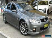 2011 Holden Commodore VE II MY12 SS-V Grey Automatic 6sp A Sedan for Sale