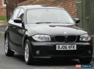 BMW 118 2.0TD 2006MY d SE for Sale
