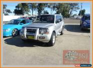 2000 Mitsubishi Pajero NM Exceed LWB (4x4) Silver Automatic 5sp A Wagon for Sale