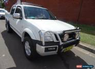 2004 Holden Rodeo RA LT White Manual 5sp M Crewcab for Sale