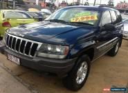 2001 Jeep Grand Cherokee WG Laredo (4x4) Blue Automatic 4sp A Wagon for Sale