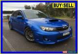 Classic 2011 Subaru Impreza MY11 WRX (AWD) Blue Manual 5sp M Hatchback for Sale