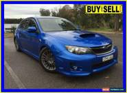 2011 Subaru Impreza MY11 WRX (AWD) Blue Manual 5sp M Hatchback for Sale