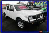 Classic 2006 Nissan Navara D40 RX (4x4) White Automatic 5sp A Dual Cab Pick-up for Sale
