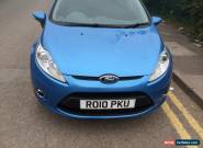 2010 FORD FIESTA ZETEC BLUE for Sale