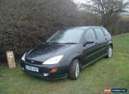 2000 FORD FOCUS ZETEC 1.6 AUTOMATIC AUTO BLACK. NO RESERVE! CHEAP BARGAIN!  for Sale