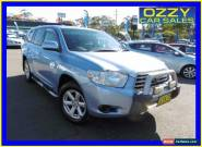 2007 Toyota Kluger GSU45R KX-R (4x4) 7 Seat Blue Automatic 5sp A Wagon for Sale