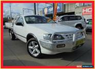 2005 Ford Falcon BA Mk II RTV White Automatic 4sp A 2D Cab Chassis for Sale