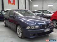 1998 BMW 528I E39 Mauritius Blue Automatic 5sp A Sedan for Sale