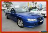 Classic 2005 Holden Crewman VZ S Blue Automatic 4sp A 4D UTILITY for Sale