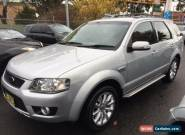 2010 Ford Territory SY Mkii Ghia (4x4) Silver Automatic 6sp A Wagon for Sale