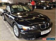 2002 BMW Z3 1.9 SPORT BLACK WITH IVORY LEATHER,LOW MILES 84K CAT D RECORDED for Sale
