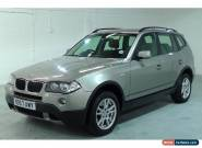 BMW X3 2.0d 2007MY SE for Sale