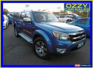 2009 Ford Ranger PK Wildtrak (4x4) Blue Automatic 5sp A Dual Cab Pick-up for Sale