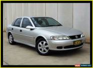 2001 Holden Vectra Jsii Equipe Silver Automatic 4sp A Sedan for Sale
