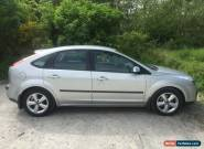 2005/05 FORD FOCUS ZETEC CLIMATE 1.6 TDCI SILVER for Sale