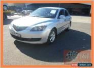 2008 Mazda 3 BK MY06 Upgrade Neo Silver Manual 5sp M Hatchback for Sale