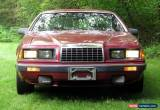 Classic 1983 Ford Thunderbird Turbocoupe for Sale