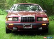 1983 Ford Thunderbird Turbocoupe for Sale